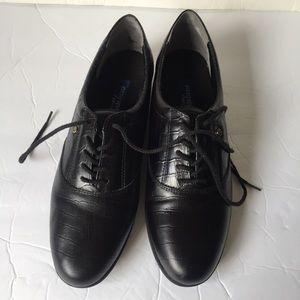 Easy Spirit Motion Black Crock Sneakers 10 1/2